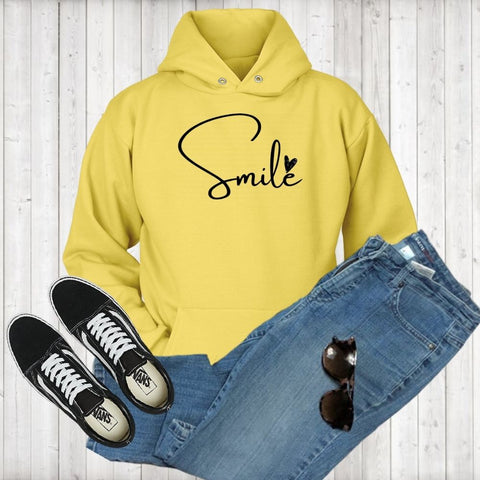 Smile 1 Hoodies