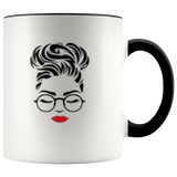 Beautiful Red Lips Coffee Mug