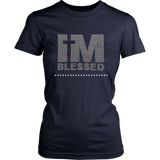 I'm Blessed Women's Unisex T-Shirt - Navy | Shop Sassy Chick