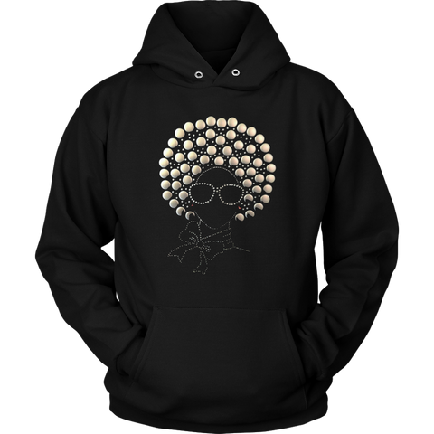 Afro Lady Women's Hoodie | Shop Sassy Chick