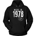Made In 1978 Hoodies