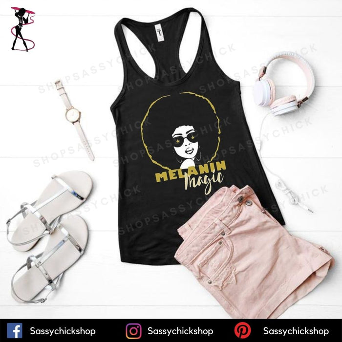 Melanin Magic Tanks - Shop Sassy Chick