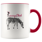 Coffee Zebra Ceramic Mug - Red | Shop Sassy Chick