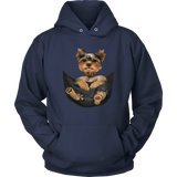 Pocket Dog Hoodies