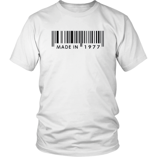 Made In  1977 T-Shirt - Shop Sassy Chick