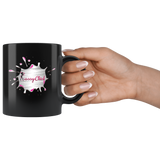 Mug Slash Ceramic Black Mug | Shop Sassy Chick