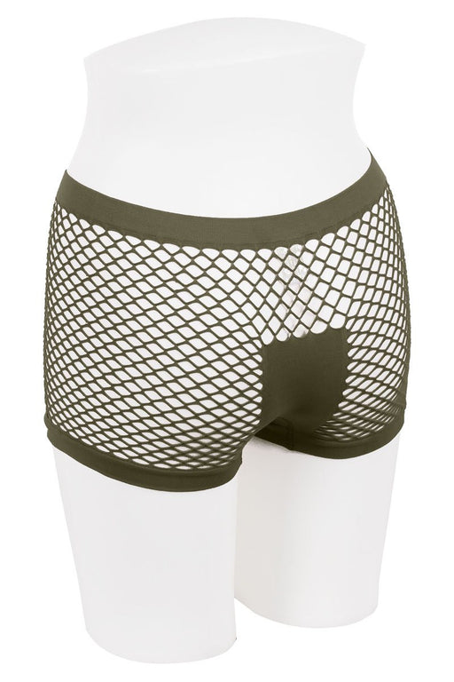 Ladies fishnet boyshort | Shop Sassy Chick