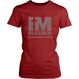 I'm Blessed Women's Unisex T-Shirt - Red | Shop Sassy Chick