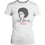 Super Naturally Blessed Women's Unisex T-Shirt - White | Shop Sassy Chick