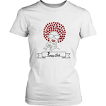 Red Afro Women's Unisex T-Shirt | Shop Sassy Chick