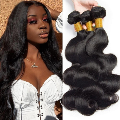 3 Bundles Body Wave Hair Extension Brazilian Hair