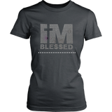 I'm Blessed Women's Unisex T-Shirt - Charcoal | Shop Sassy Chick