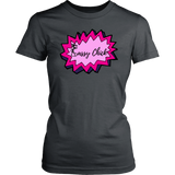 Sassy Power Women's Unisex T-Shirt - Charcoal | Shop Sassy Chick
