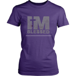 I'm Blessed Women's Unisex T-Shirt - Purple | Shop Sassy Chick