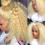 613 Curly Human Hair Wig