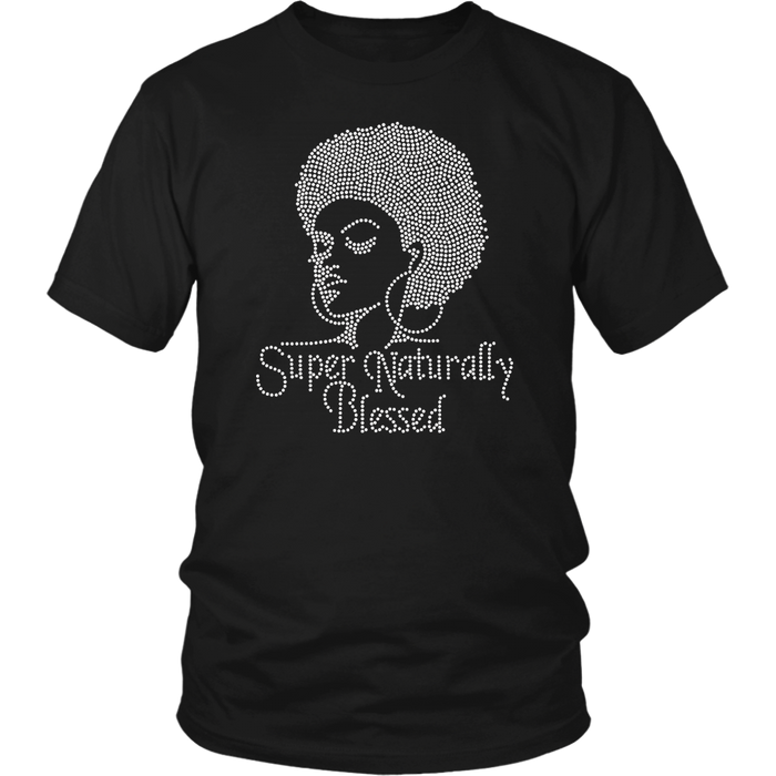 Super Naturally Blessed T-Shirt - Shop Sassy Chick