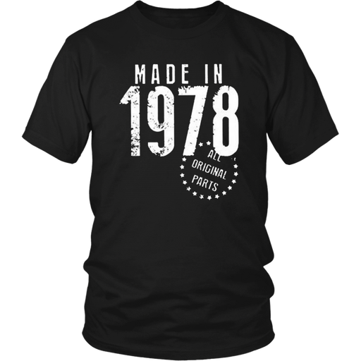 Made In 1978 T-Shirt - Shop Sassy Chick