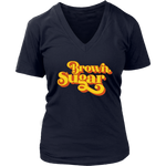 Brown Sugar V-Neck