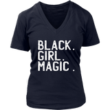 Black Girl Magic V-Neck