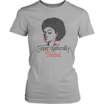 Super Naturally Blessed Women's Unisex T-Shirt - Grey | Shop Sassy Chick