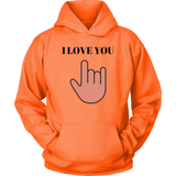 I Love You Hoodie | Shop Sassy Chick