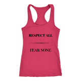 Respect All Racerback Tank Top - Red | Shop Sassy Chick