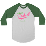 I am Healed Women's Long Sleeve - Green | Shop Sassy Chick