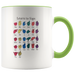 Learn ASL Ceramic Accent Mug - Green | Shop Sassy Chick