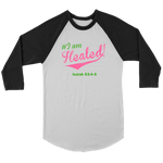 I am Healed Women's Long Sleeve - Black | Shop Sassy Chick