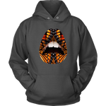 Snake Lips Hoodies