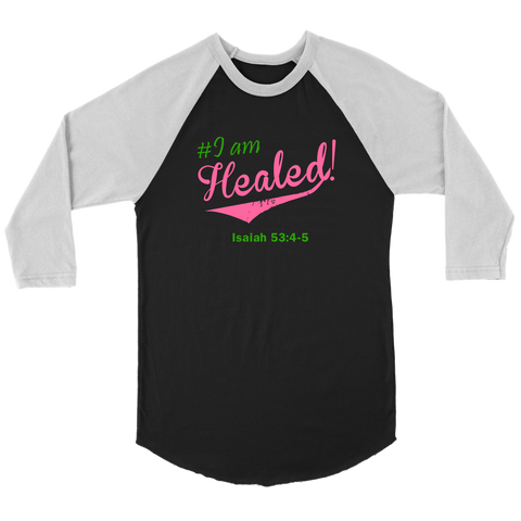 I am Healed Women's Long Sleeve - Grey | Shop Sassy Chick