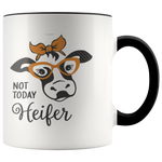 Not today Heifer Coffee Mug