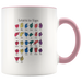 Learn ASL Ceramic Accent Mug - Pink | Shop Sassy Chick
