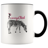 Coffee Zebra Ceramic Mug - Black | Shop Sassy Chick