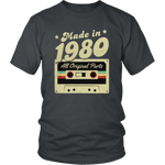 Made in 1980 T-Shirt - Shop Sassy Chick
