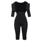 Full Body Black Waist Trainer Corsets Slimming Shapewear