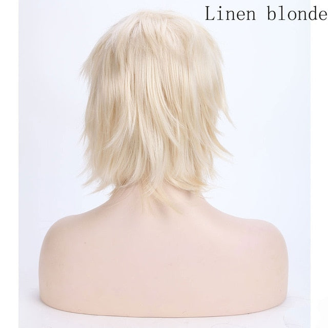 Anime Short Cosplay Wig With Bangs