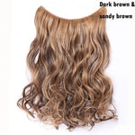 Long Synthetic Hair  Wavy Hair Extensions