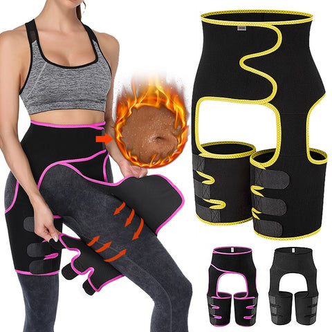 Sweat Thigh Trimmer High Waist