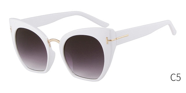 Half Frame Tom Rimless Sunglasses