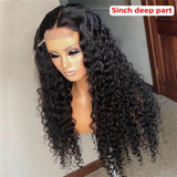 Brazilian Remy Curly Lace Closure Wigs