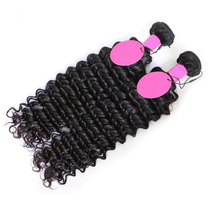 Deep Wave Virgin Brazilian Hair Bundles