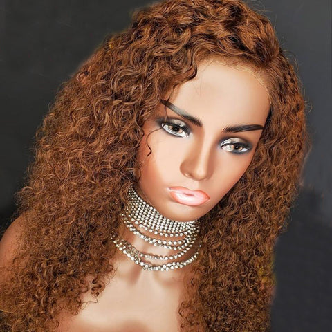Ginger Deep Wave Human Hair Wigs