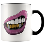 Purple Lips Mugs