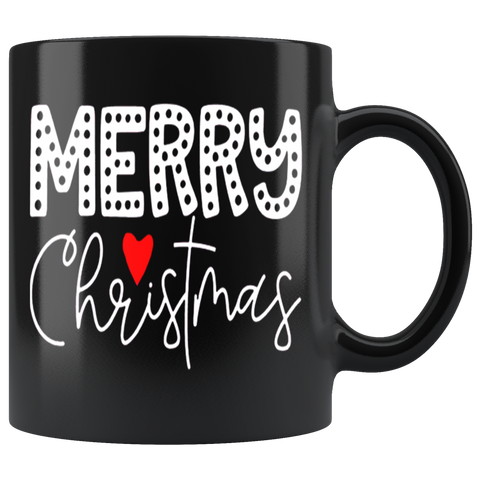 Merry Christmas 5 Mugs