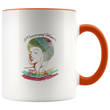 Mug Phenomenal Woman Ceramic Coffee Mug - Orange | Shop Sassy Chick