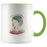 Mug Phenomenal Woman Ceramic Coffee Mug - Green | Shop Sassy Chick