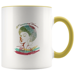 Mug Phenomenal Woman Ceramic Coffee Mug - Yellow | Shop Sassy Chick
