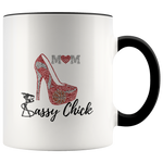 Coffee Ceramic Mug Mom Pump - Black | Shop Sassy Chick