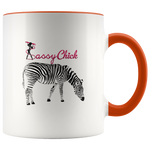 Coffee Zebra Ceramic Mug - Orange | Shop Sassy Chick